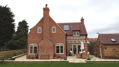New Build Brick & Flint Cottage Completed!